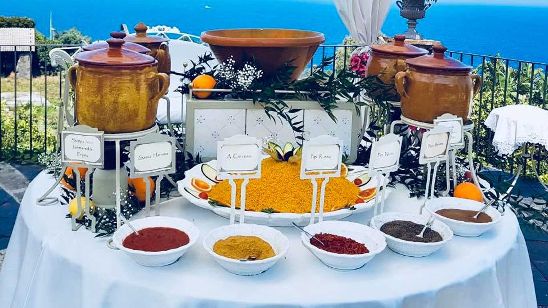buffet tipici - ricevimenti La Casa del Grecale