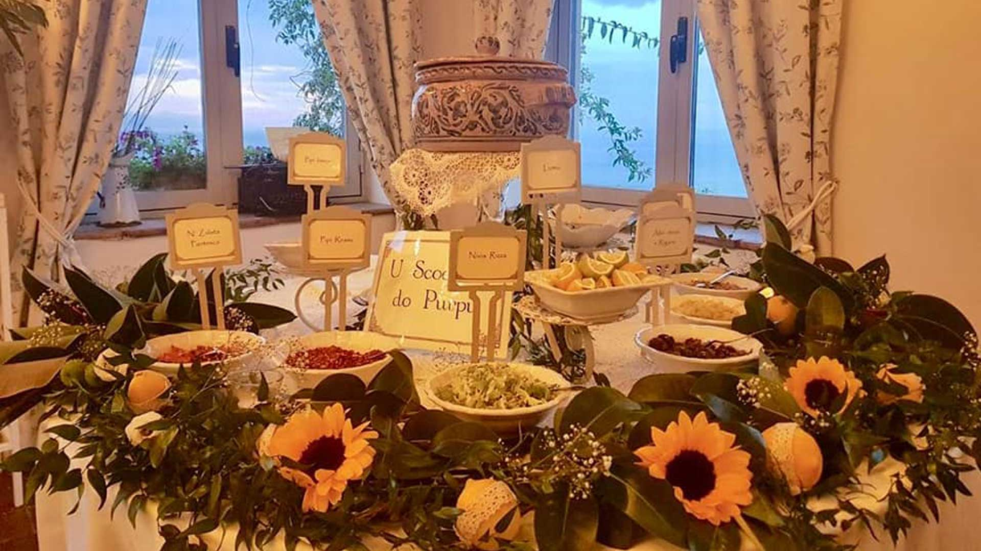 buffet - ricevimenti La Casa del Grecale