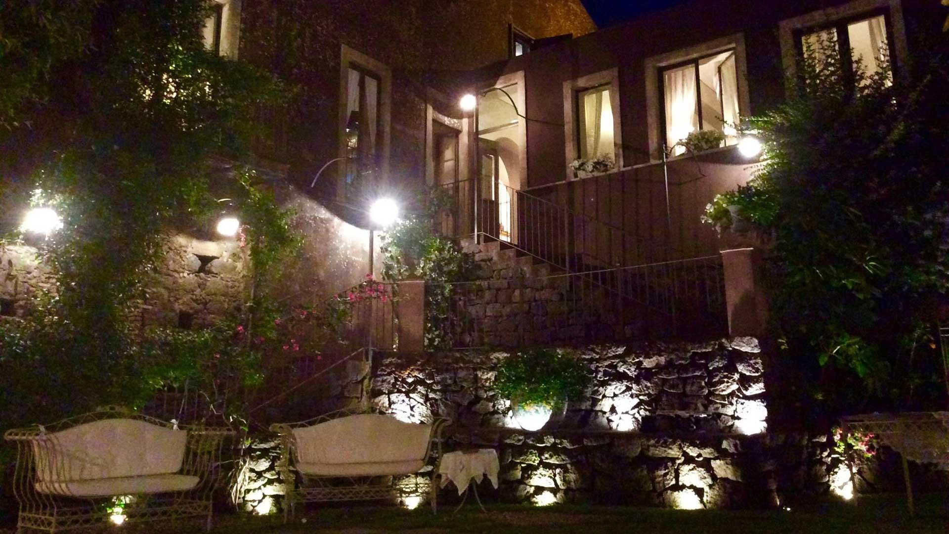 prato belvedere di sera - ricevimenti La Casa del Grecale