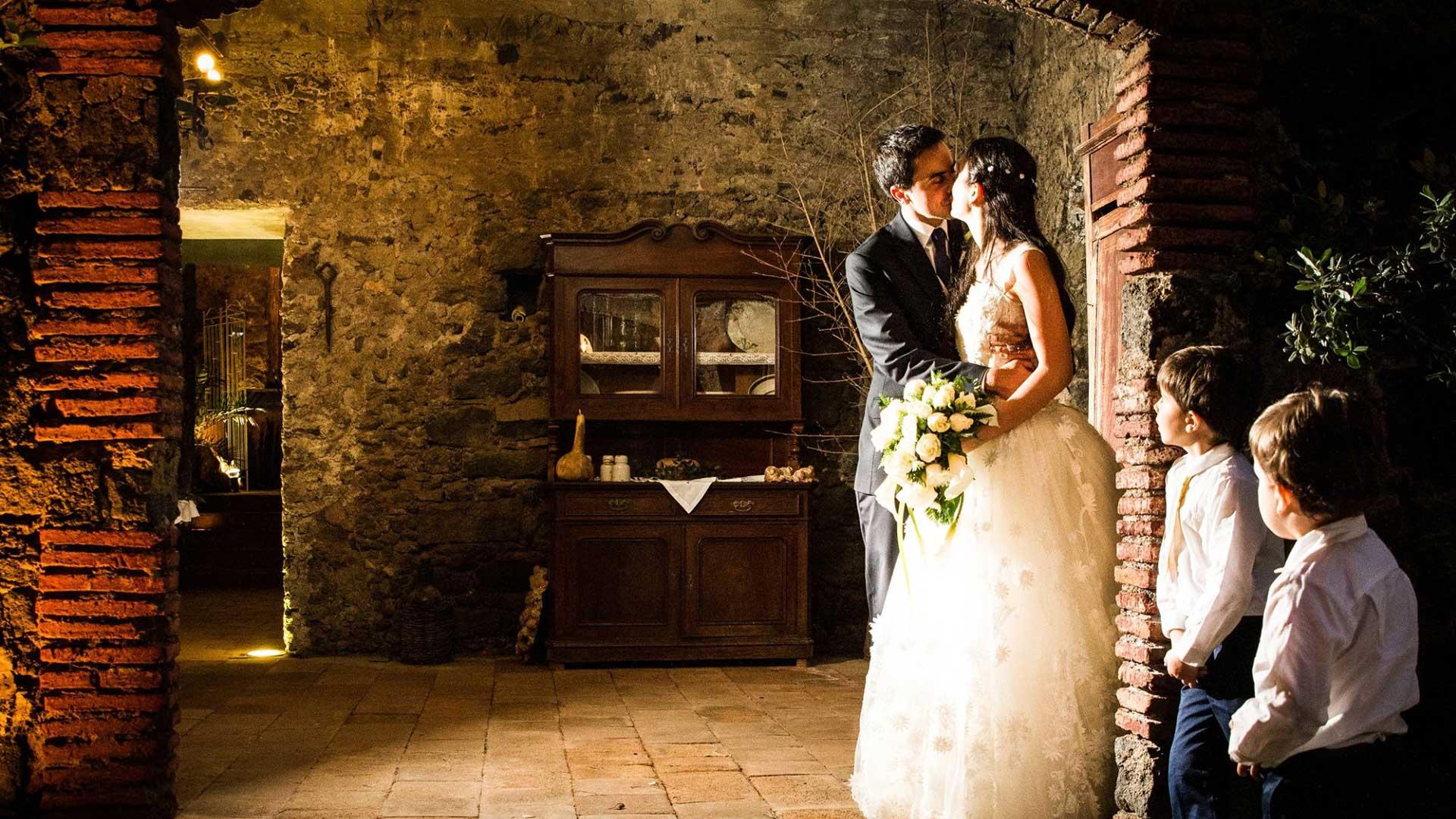 Sposi - Matrimonio - Le taverne della Casa del Grecale