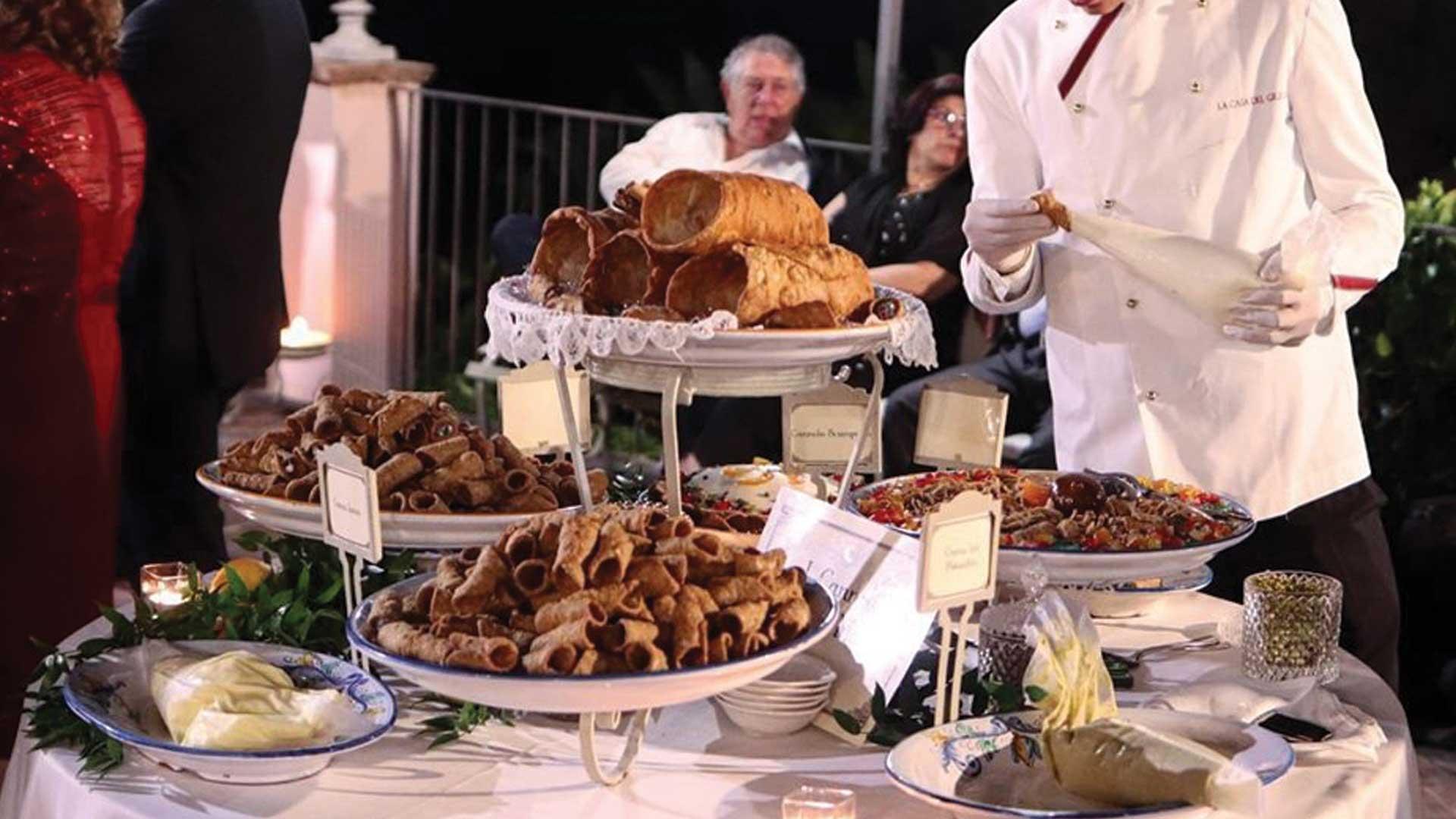 buffet di dolci - ricevimenti La casa del grecale Acireale