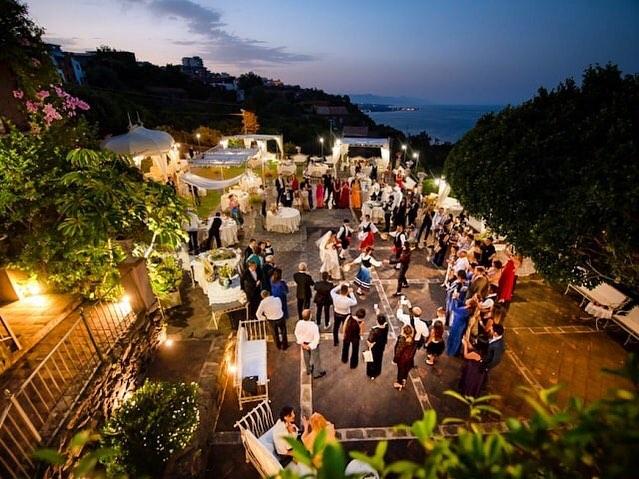 Villa ricevimenti sul mare - La casa del grecale