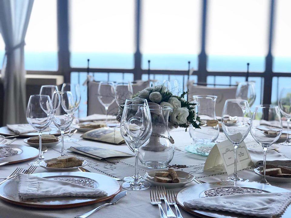 tavolo - sala ricevimenti La casa del grecale